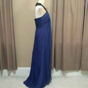 Badgley Mischka silk gown size 10